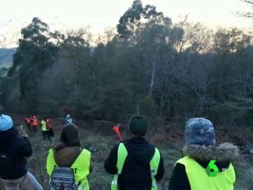 Partidos animalistas intentan boicotear el campeonato de caza del zorro en Pontevedra con bocinas y pitos