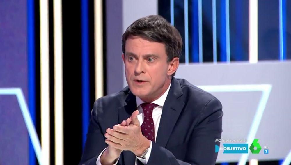 """Manuel Valls: """"Desde los 18 años aposté por la izquierda, por la socialdemocracia"""""""
