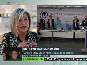 Cristina Pardo entrevista a Julia Otero