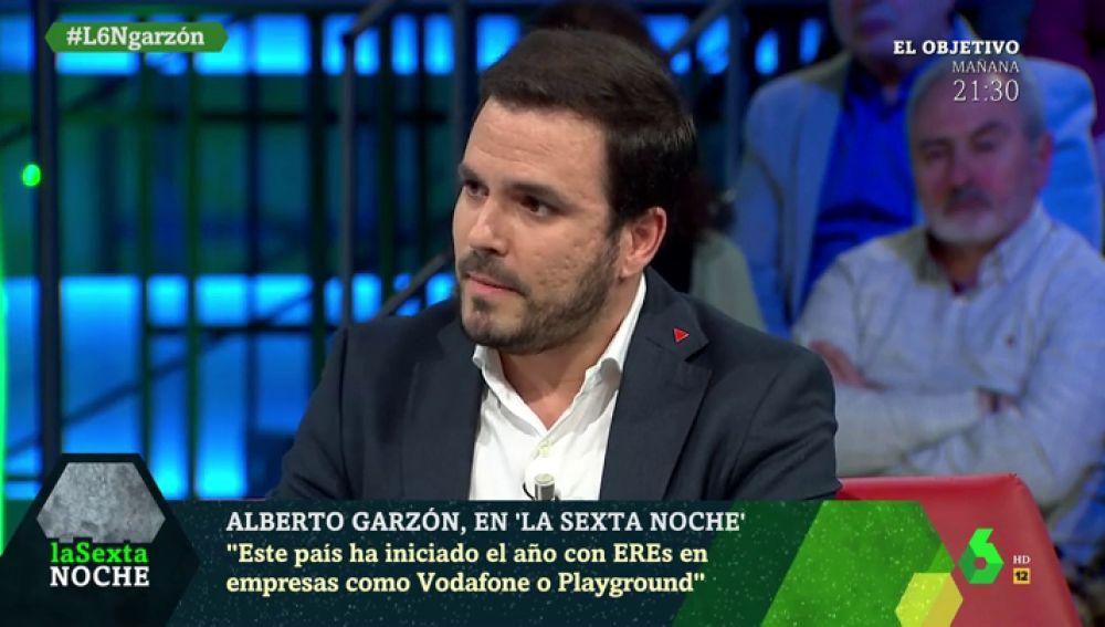 """La crítica de Alberto Garzón al discurso del PP: """"Yo pongo el Belén, regalo en Reyes y antes rezaba. ¿Si no lo hiciera no sería español?"""""""
