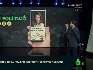 La reina Letizia, Pedro Sánchez, Villarejo, Abascal o Rufián: ¿con que personaje haría 'match' Alberto Garzón?
