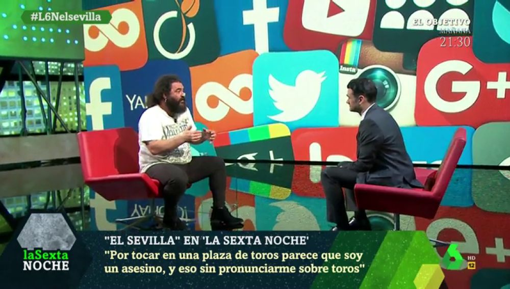 """La crítica de El Sevilla a los 'ofendidos' en redes sociales: """"Por tocar en una plaza de toros me llamaron asesino"""""""