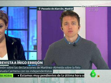 Íñigo Errejón en una entrevista en Liarla Pardo