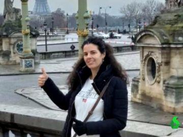 Imagen de la española fallecida en una explosión en París