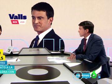 Entrevista a Manuel Valls en El Objetivo