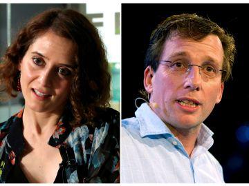 Ayuso y Martínez Almeida