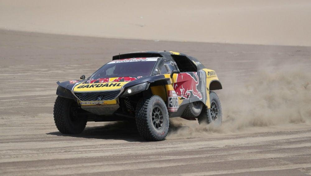 Sebastien Loeb, en el Dakar