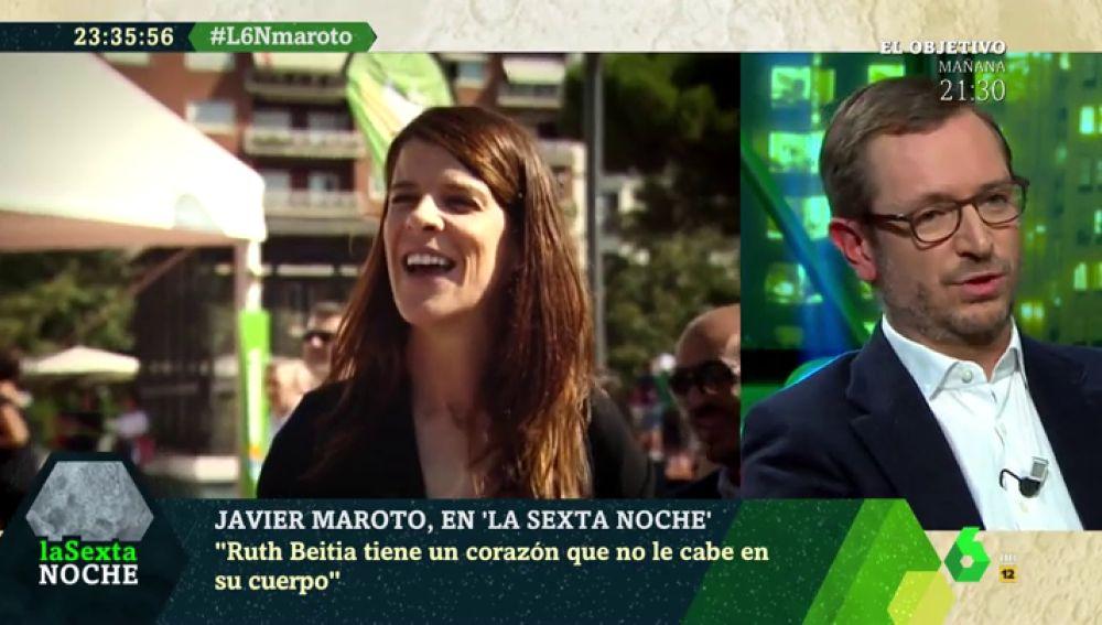 """Javier Maroto: """"Ruth Beitia es consciente de que lo que dijo no se ajusta ni a lo que piensa ella ni el PP"""""""