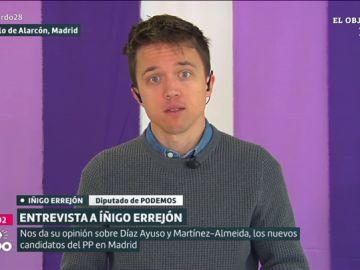 Íñigo Errejón en Liarla Pardo