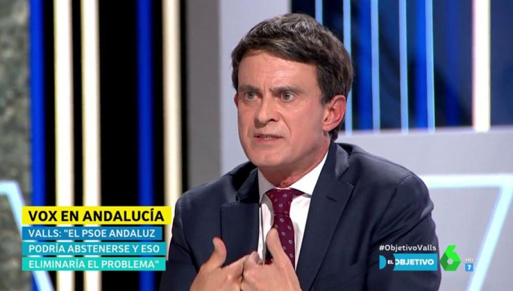 """La postura de Manuel Valls sobre inmigración: """"Hay que integrar cuando se pueda integrar y expulsar cuando se tiene que expulsar"""""""