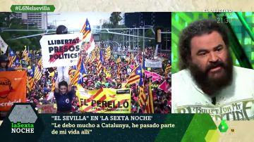 """El Sevilla: """"Vivimos en un lugar maravilloso que se llama España"""""""