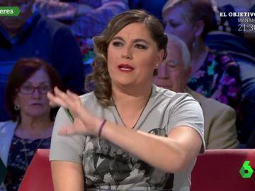 """El rotundo alegato de Loreto Ochando contra Vox: """"Hay que ser muy cenutrio para negar la violencia de género"""""""
