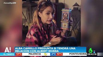 Alba Carrillo y sus indirectas a Albert Rivera: así es su surrealista vídeo pidiéndole una cita