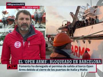 Óscar Camps en Al Rojo Vivo