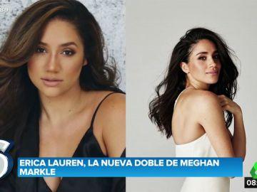 El espectacular parecido de Meghan Markle y Erica Lauren, la modelo de tallas grandes que triunfa en Instagram