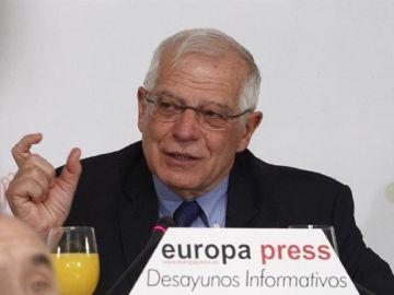 Imagen del ministro de Asuntos Exteriores, Josep Borrell