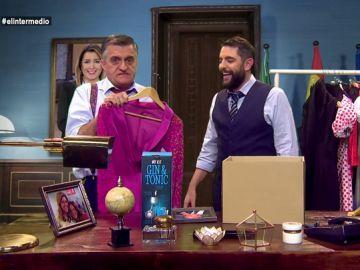 El Gran Wyoming y Dani Mateo en el despacho de Susana Díaz