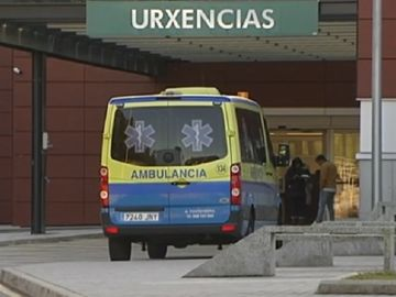 Imagen del Hospital do Salnés donde fue ingresado el bebé de la pareja