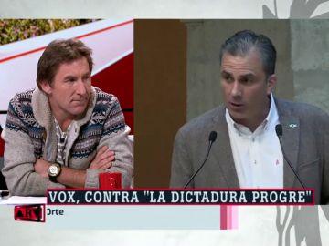 El 'zasca' de Antonio de la Torre a Vox