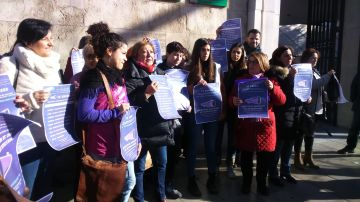 Protestas feministas en Andalucía.