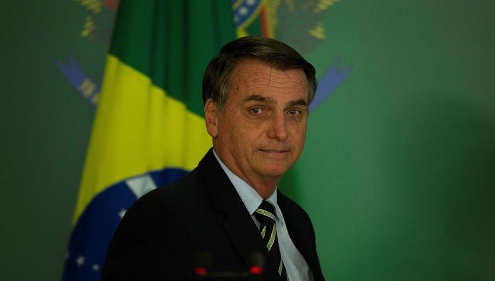 El presidente de Brasil, el ultraderechista Jair Bolsonaro
