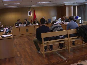 'La Manada' de Villalba en el juicio
