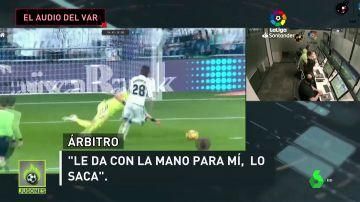 Revelan el audio del VAR en el penalti a Vinicius