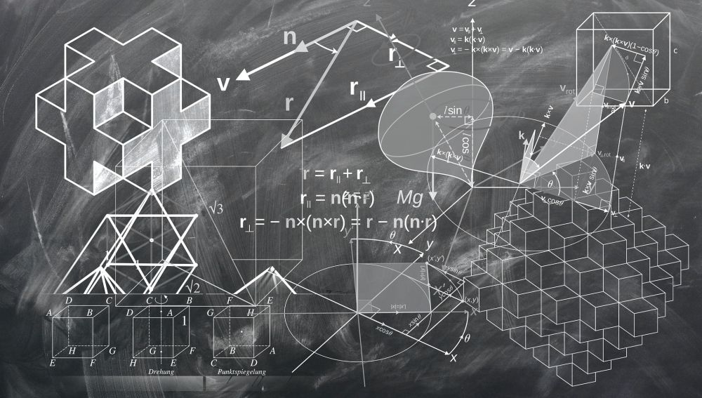 Estas fórmulas quizá las resuelva un robot. Las del cierto problema matemático, no.