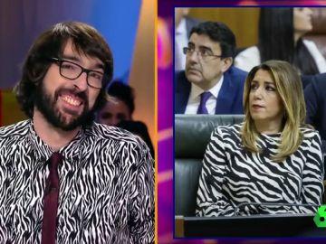 Quique Peinado y Susana Díaz