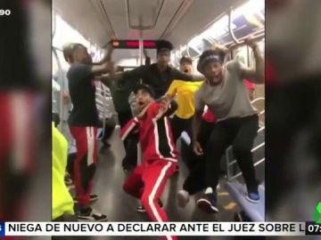 La espectacular coreografía de hip hop en el metro de Nueva York que se ha hecho viral