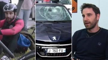 Dani Rovira explica su brutal atropello en bicicleta
