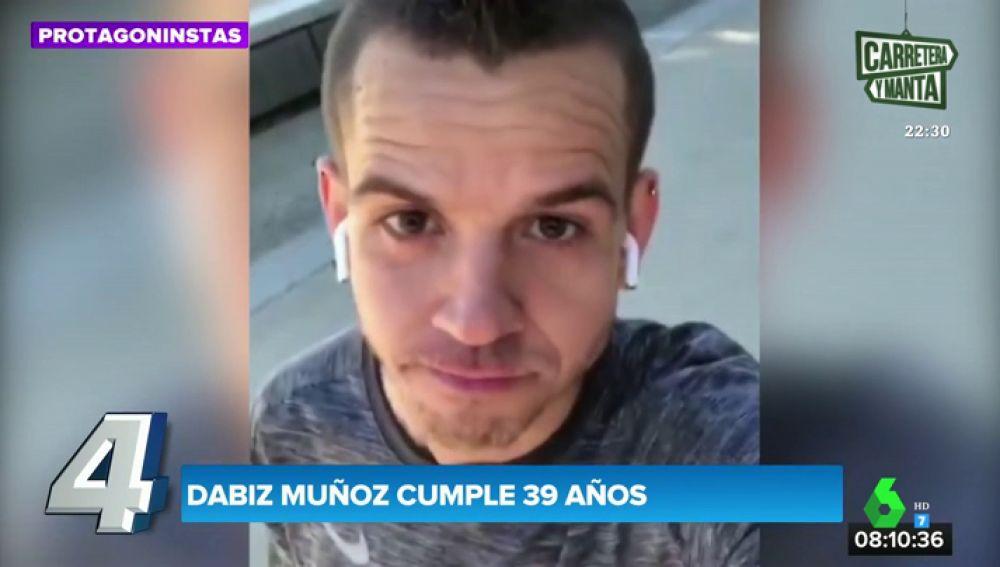 La petición de Dabiz Muñoz a Cristina Pedroche para celebrar sus 39 años
