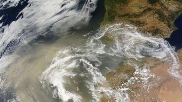 El polvo sahariano esta danando las microalgas de la peninsula