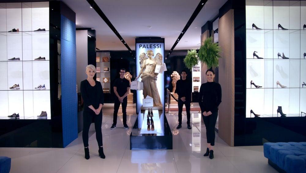 La falsa boutique de lujo de Payless