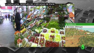 ¿Cómo vive Andalucía su histórico cambio de ciclo? Un análisis político desde un mercado de Triana