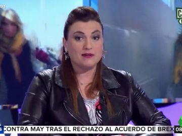 """La proposición de Lorena Vázquez a Albert Rivera: """"Si le gustan las chicas morenas y periodistas del corazón, aquí estoy disponible"""""""