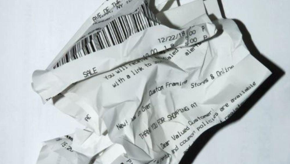 ticket de la compra