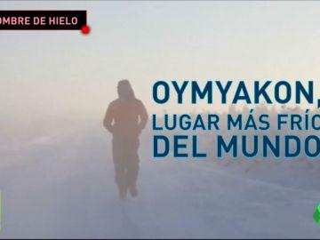 Un atleta extremo corre un maratón a 67 grados bajo cero