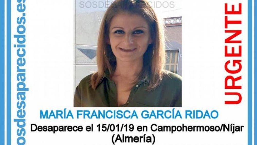 María Francisca García, desaparecida