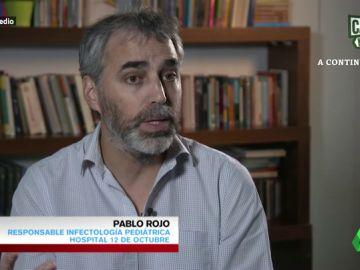 Pablo Rojo, responsable de Infectología Pediátrica del Hospital 12 de Octubre