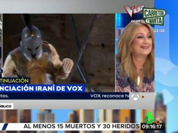 El 'zasca' de Elisa Beni a Toni Cantó tras asegurar que actuó lo mismo en Miami que en Cataluña