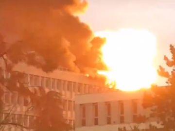 Explosión en Lyon