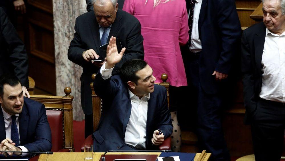 El primer ministro griego Alexis Tsipras