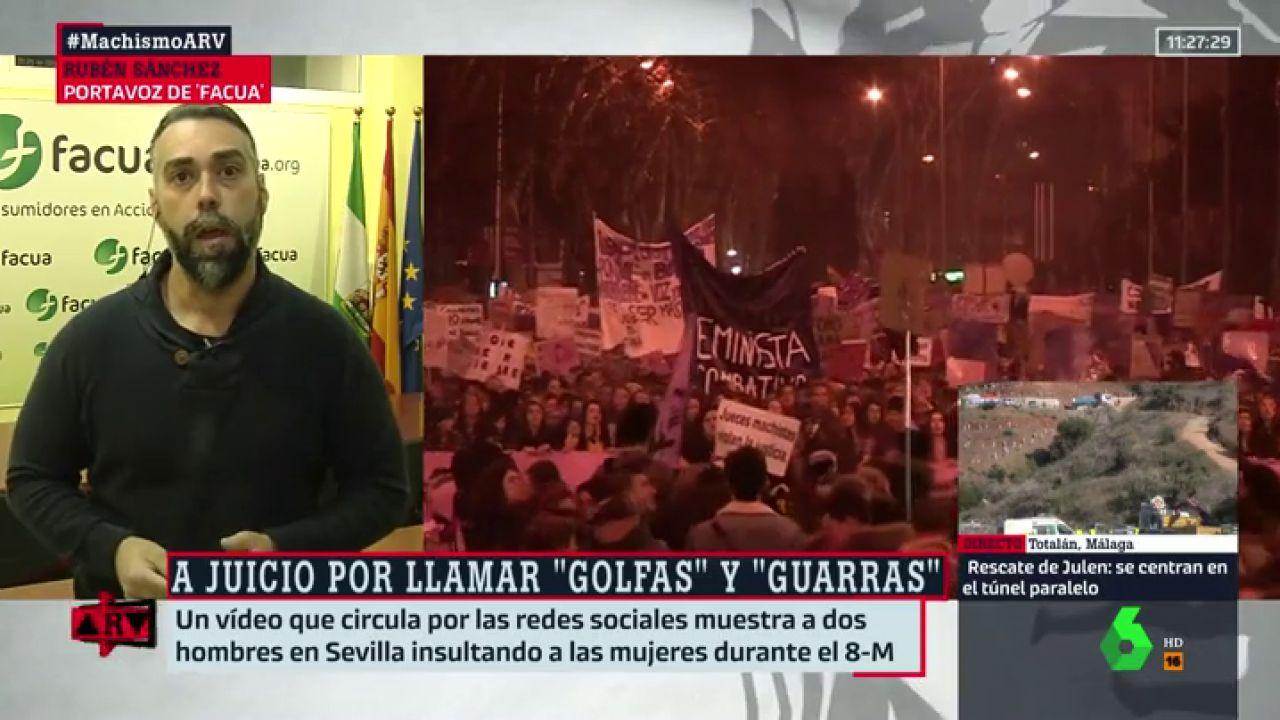 """Noticias Guarras el mensaje de facua tras llevar a juicio a los hombres que llamaron """"golfas"""" y """"guarras"""" a las feministas: """"es un aviso para navegantes"""""""