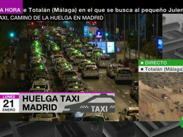 Garrido se reunirá con los taxistas este lunes ante la amenaza de una huelga indefinida en pleno Fitur y Fashion Week