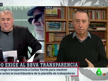 Antonio García Ferreras y Joan Baldoví