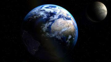 Foto de la Tierra y la Luna captada por la NASA