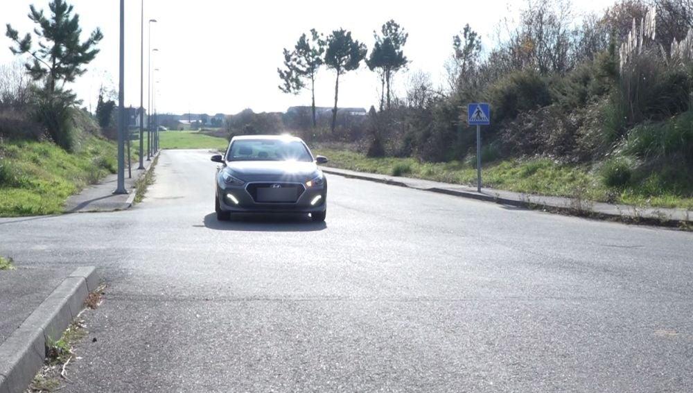 Cruce en la carretera