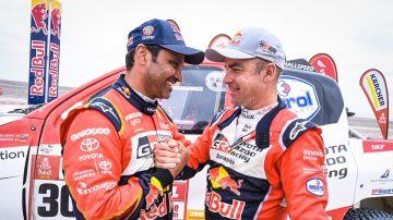 Al-Attiyah celebra su tercer Dakar