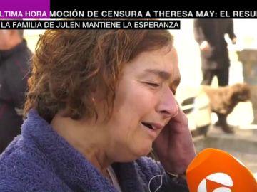 """La abuela de Julen, rota de dolor: """"Mi Óliver está protegiendo a su hermano, le está arropando"""""""